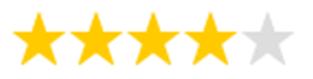 4,5 Sterne Bewertung für Naviblef Augenlidschaum (Trockene Augen, Sicca Syndrom)