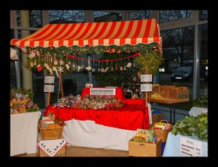 DKSB-Stand beim Weihnachtsmarkt