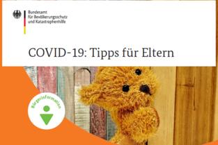 Covid19-Tipps für Eltern