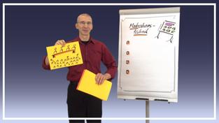 Team Moderation mit Gert Schilling - Szene aus der Vorlesung