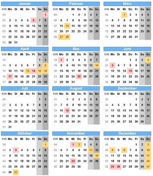 Einfach in den Kalender klicken