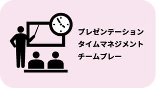プレゼンテーション・タイムマネジメント・チームプレー