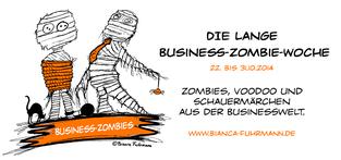 Die lange Business-Zombie-Woche, 22.-31.10.2014, © Bianca Fuhrmann, #BusinessZombie