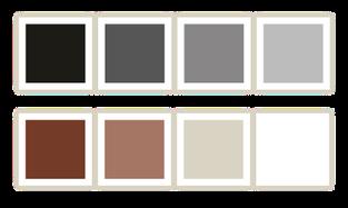 Naturstein Fuge ist in 8 Farben erhältlich.