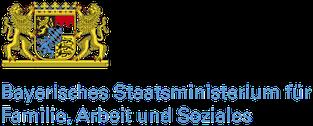 Freiwilligen-Zentrum Augsburg - Logo Bayerisches Staatsministerium Familie, Arbeit und Soziales