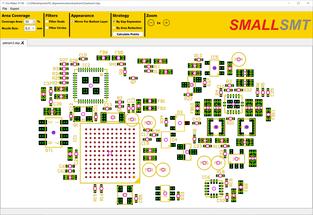 Dot Maker area selection result