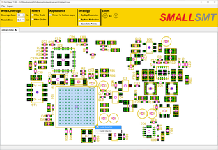 Dot Maker area selection