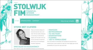 Website voor een accountant