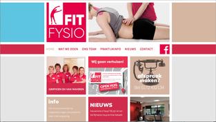 Website voor een fysiotherapie praktijk