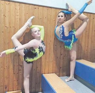 Ilayda-Selin Demir und Karolina Trubacev waren mit einem zweiten und einem dritten Platz erfolgreich