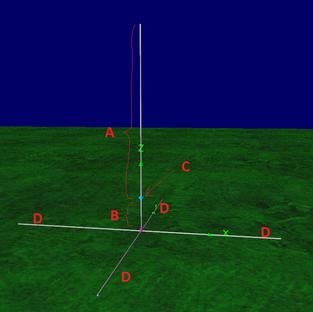 Barsine Vertical Antenna - Schema Costruttivo (IW2MXE)