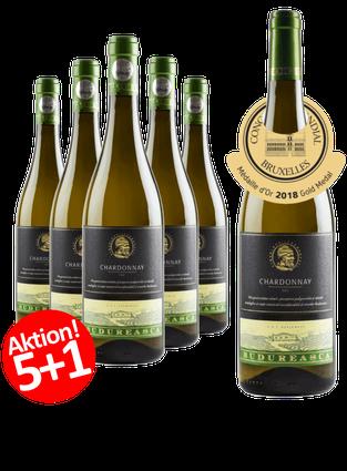 6-ER Weinpaket Budureasca Premium Chardonnay 2017