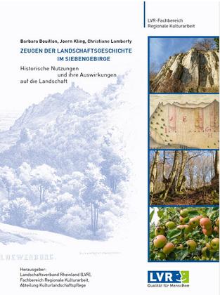 """Cover der Publikation """"Landschaftsgeschichte im Siebengebirge"""" (2019)."""