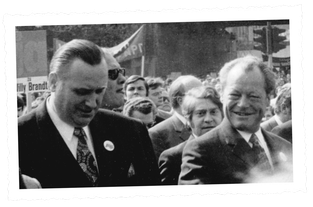 Heinrich Sondermann_Willy Brandt in Hörde_1972_copyright Hans Parbel