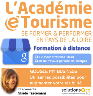 Formation Google My business pour les professionnels du tourisme en distanciel