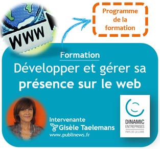 Développer et gérer sa présence sur le web : pourquoi et comment