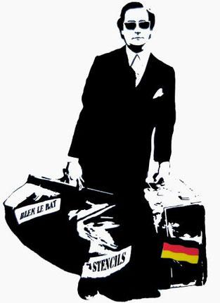 Man who walks through walls German