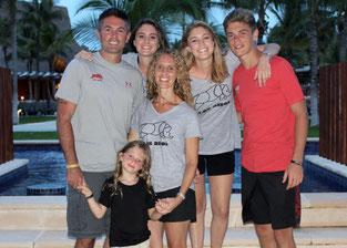 Brock, Madi (20), Brooke (19), Jake (16), Kerrie, Luciana (4)