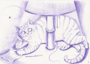Рисунок замечательной художницы, писательницы, дизайнера, мамы шестерых детей Жени Перепёлки