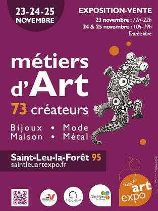 Bijoux de créateur, Saint Leu Art Expo (95)