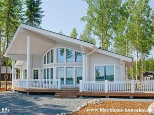 Barrirrefreies Massivholzhaus als Singlehaus, 75 m²