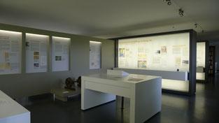 Blick in die Ausstellung zur Geschichte des Stalag X B. Foto: Andreas Ehresmann, 24.7.2013