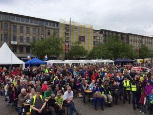 Stadtradeln 2015 in Hannover mit e-Bikes von e-motion