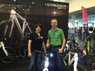 """e-Bikes Probefahrten auf der Radmesse """"Fahrrad Essen"""""""