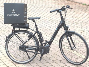 e-Bikes von e-motion für den Sushi Shop Frankfurt