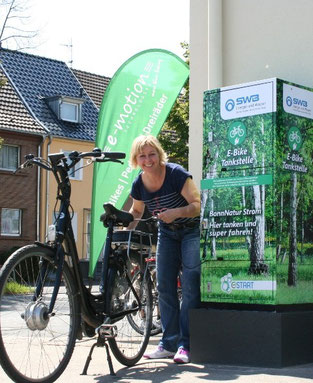 E-Bike Tankstelle eröffnet