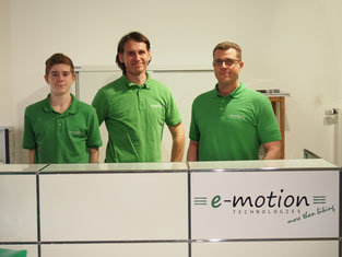 Team e-motion e-Bike Welt Frankfurt