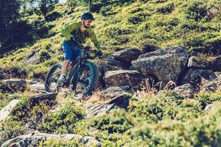 e-Mountainbike Fahrtechnik-Kurse und Touren