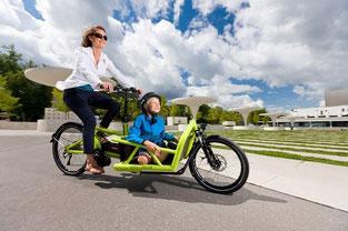 Kompakt e-Bikes und Lastenfahrräder