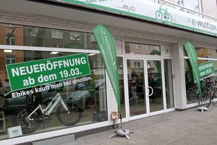 Neueröffnung e-motion e-Bike Welt Bochum