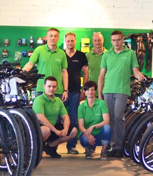 Team e-motion e-Bike Welt Würzburg