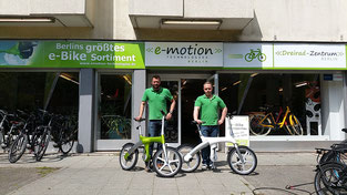 Mando Footloose emotion e-Bike Welt Berlin