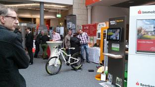 e-motion Kleve präsentiert e-Bikes auf der Immobilia in Wesel