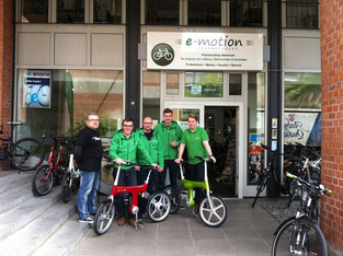 Mando Footloose im e-motion e-Bike Premium Shop Hannover