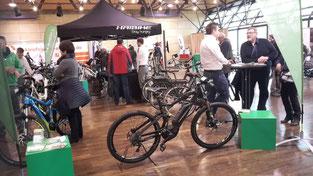 """Zahlreiche Besucher waren begeistert von unseren e-Bikes auf der Radmesse """"rad16"""""""