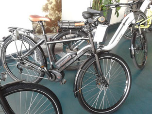 e-Bikes von Corratec in der e-motion e-Bike Welt Ulm