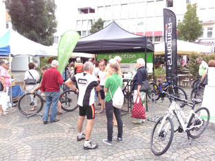 e-motion e-Bike Stand auf dem E-Bike Wochenende in Worms