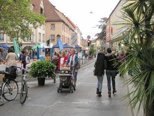 Autofreie Theaterstraße Würzburg
