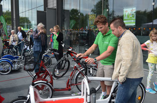 e-motion Bochum beim Fahrradsommer der Industriekultur 2015