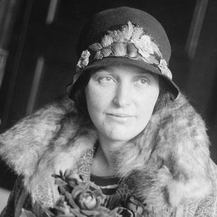 Stefi Geyer (*28. 6. 1888 in Budapest; † 11. 12, 1956 in Zürich). Foto: George Grantham Bain Sammlung der Library of Congress