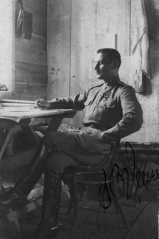 Капитан Александр Евстратьевич Зуев. Из архива семьи Зуевых