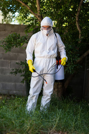 tratamiento de herbicida