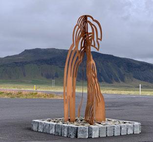 Rjùkandi kaffi: scultura di Maja Thommen. Foto di A. Paionni