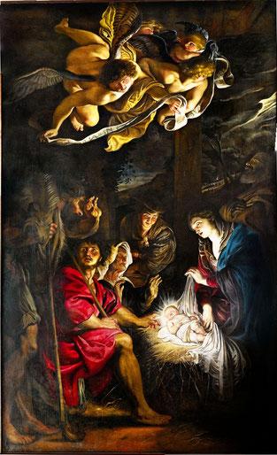 Pietro Paolo Rubens. Adorazione dei pastori, 1608, Fermo, Pinacoteca Civica Foto: Daniele Maiani