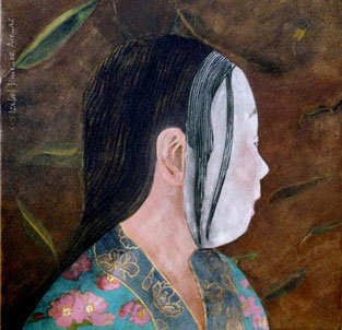 Detalle de Tradición, 45 x 45 cm, 2004.