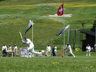 International Cricket Festival in Zuoz (2013)